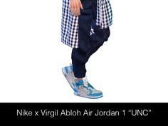 the sims 4 shoes nike Streetwear for - Sims 4 Male Clothes, Sims 4 Clothing, Air Jordan 1 Unc, Around The Sims 4, Sims 4 Family, Latest Jordans, Sims 4 Cc Shoes, Best Sims, The Sims 4 Download
