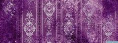 purple and white grunge pattern Facebook Cover timeline photo ...