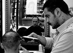 My barber, London - Dickdonkin