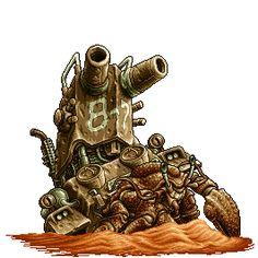 Metal Slug 3 Huge Hermit Best boss ever