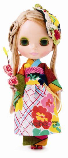 The Modern GEISHA ✿ :: Blythe Geisha Kimono Doll - Mamechiyo