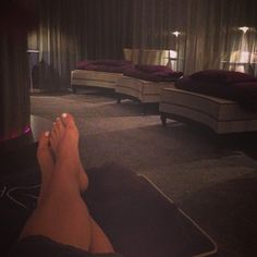 REPOST @xxhaylspencxx at our spa relaxing in our relaxation suite after her treatments!