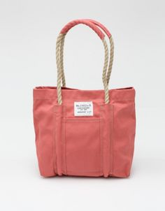 Dam Pond Tote with Rope Handle