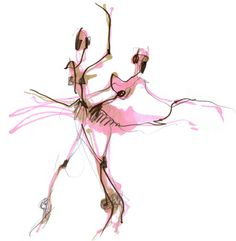 "Saatchi Art Artist Hogto Louso; Drawing, ""Ballet in Pink"" #art"