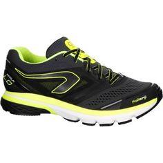 881951aed8e Chaussures de running homme kiprun ld gris jaune kalenji