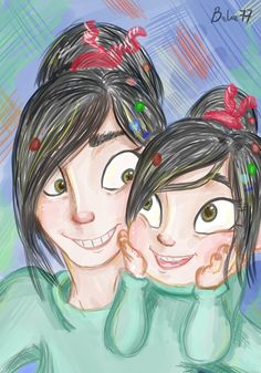 Want alina to be vanellope for halloween disney lover pinterest