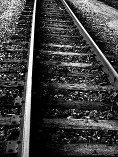 tracks going somewhere