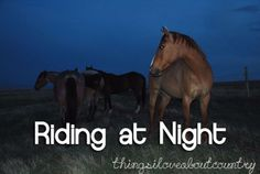 riding double at night with boyfriend. perfect date(: