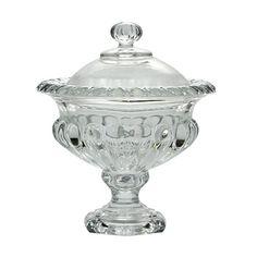 Bomboniere de Cristal Sussex 19,5cm | POR R$ 129,90 OU EM 4X DE R$ 32,48 IGUAIS S/ JUROS