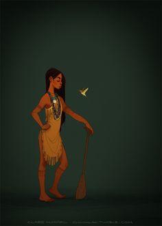 pocahontas costume Powhatan, XVIIe siècle