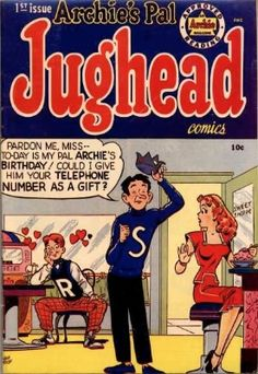 Archie's Pal, Jughead #1: a collectible later Golden Age comic. Click for value