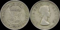 *Lucernae* South Africa 2½ Shillings 1958 Elizabeth II Silver ( MH 49 )  Price : $10.00  Ends on : 1 week Order Now