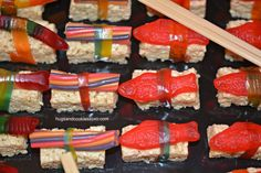 Candy Sushi How-To Video!!! - Hugs and Cookies XOXO