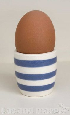 Cornish Ware Footless Egg Cups