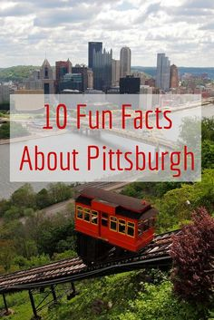 Fun facts about Pittsburgh What do you know about Pittsburgh, Pennsylvania? If you only associate the city with steel and sports, here are 10 more things you should know. Best Vacations, Vacation Trips, Vacation Ideas, Cool Places To Visit, Places To Go, Bucket List Family, Travel Usa, Travel Tips, Work Travel