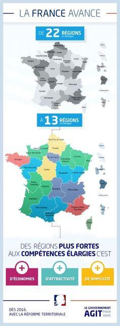 Twitter / elEconomistaes: #Francia estrena un mapa regional ...