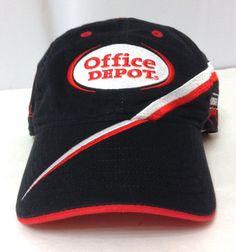 OFFICE DEPOT RACING HAT Black/Red/White Carl Edwards#99 Roush NASCAR Men/Women #TeamCaliber #BaseballCap