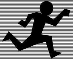 Running Figure Silhouette