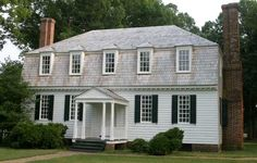 This is the Moore House in Yorktown, VA.  It was the site of negotiations that led to the British surrender at Yorktown on October 19, 1781.