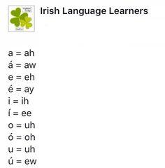 Scottish English, German, Gaelic Words, Irish Language, Picture Writing Prompts, Irish Culture, Irish Pride, Irish Blessing, Irish Celtic