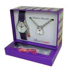 RAVEL R3302 - Set regalo ragazza con orologio e bracciale