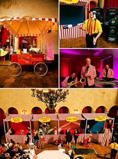 Vibrant Carnival Bat Mitzvah Theme Ideas