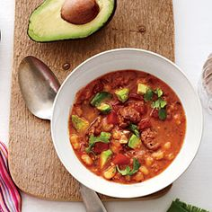 Quick Pork Posole | CookingLight.com #myplate #protein #veggies