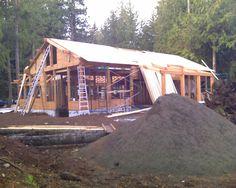 #House #Cottage #Timber #Fir #Retiree #Ocean