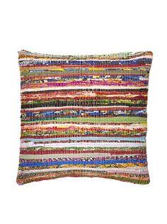 La Boheme - Hand Woven Pillow. How perfect.