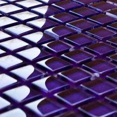 Violet Purple Mosaic Tiles | Purple Mosaics | Mosaic Village