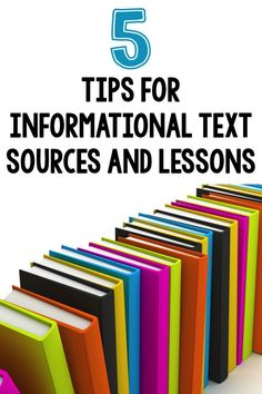 Information text tips and resources - some new ideas for your classroom.
