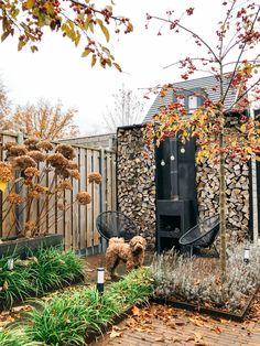 Garden Deco, Garden Yard Ideas, Balcony Garden, Hydrangea Landscaping, Backyard Landscaping, Small Gardens, Outdoor Gardens, Diy Outdoor Furniture, Garden Structures