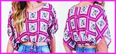 Aprenda a modelar uma bata de verão, super fashion, com as orientações abaixo!      Imagem Google     Dando um giro pelos shoppings de São...