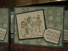 Wintergreen Flakes by sandy stamps - Cards and Paper Crafts at Splitcoaststampers
