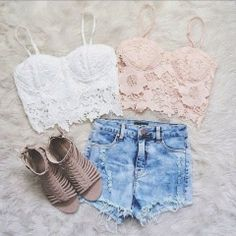 How to Chic: CROCHET LACE TOPS