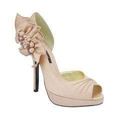 Nina Neva | Tearose Luster Satin Womens, Wholesale, Sweet Styles, Nina Womens, Shoes, Pumps, Platforms, Fashion, __Temp, Wedding, Neutrals | Nina Shoes