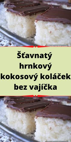 Slovak Recipes, Cereal, Food And Drink, Pudding, Cooking, Breakfast, Ethnic Recipes, Desserts, Kitchen