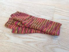 Hand-knitted fingerless gloves / Hand-knitted mittens / Arm Warmers / Hand-dyed yarn / Merino / Cashmere / Nylon