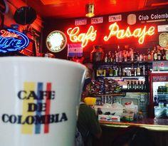 En #Colombia es imperdible tomar un café pero es aún más especial hacerlo en el Café Pasaje en #bogota donde se resumen decenas de años de historia #viveelfdsbogota #ColombiaEsRealismoMagico  www.placeok.com