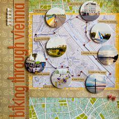love maps in scrapbooks