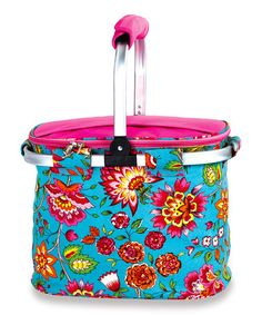 Another great find on #zulily! Madeline Turquoise Collapsible Cooler Tote #zulilyfinds