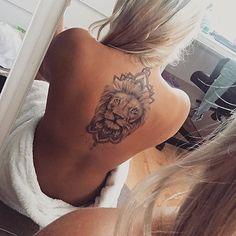 Lion by Rebeccas Tattoo Studio Sweden