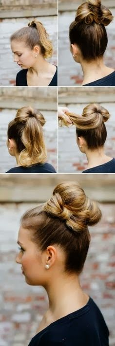 Perfect hair tutorials | Fashion World I know I can do this one just don't have the patience