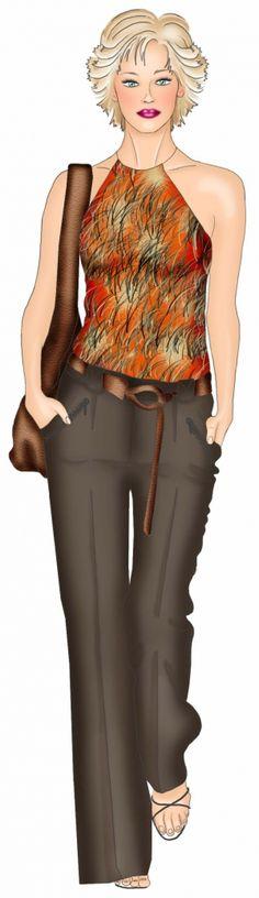 Pantalon - Patrons de couture #5445