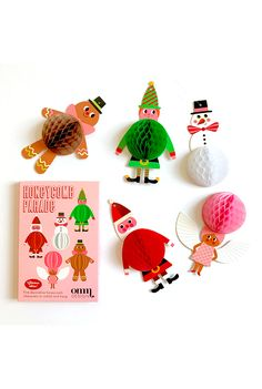 Honeycomb Christmas ornaments - sooo cute to hang in windows or on the Tree!