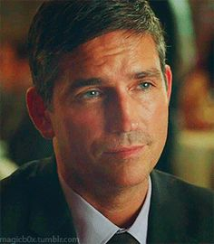 We Love Jim Caviezel — magicb0x: Flirting Reese from episode 6 - The...