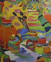 Wallack Galleries Karen Kulyk Still Life with an Italian Bowl Italian Bowl, Still Life, Detail, Gallery, Creative, Artist, Artwork, Painting, Inspiration