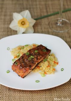 Grilled Maple Mustard Salmon Recipe
