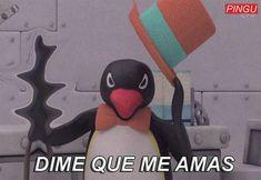 Pingu Memes, Mexican Memes, Boy Best Friend, Meme Stickers, Crush Memes, Cartoon Memes, Cartoons, All The Things Meme, Wholesome Memes