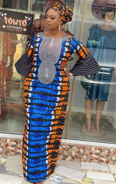 African Dresses For Kids, African Maxi Dresses, Latest African Fashion Dresses, African Print Fashion, African Attire, Women's Fashion Dresses, Prom Dresses With Sleeves, Ankara Styles, Dress Styles